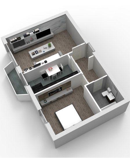 Apartamente cu 2 camere | Vulcani Residence