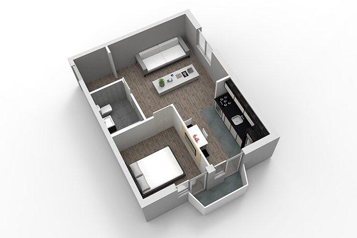 Apartamente cu 2 camere 53 mp | Vulcani Residence Buzau