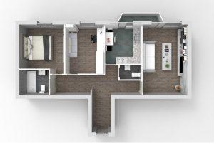 Apartament 3 camere Buzau | Vulcani Residence